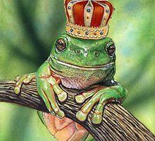 Frog Prince by artbyakiko