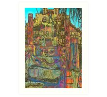 Temple to Psychedelia  Art Print