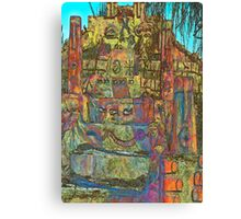 Temple to Psychedelia  Canvas Print