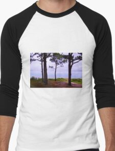 Steps to the Ocean Men's Baseball ¾ T-Shirt