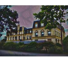 Haunted Castle (Top 10 Most Haunted on Yahoo) Photographic Print