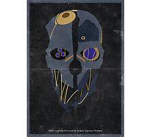 Assassins Mask Photographic Print