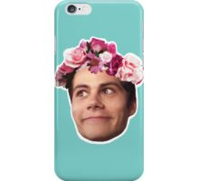 FlowerCrown Crazy Face Stiles iPhone Case/Skin