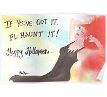 Happy Halloween, Fl-Haunt It Poster