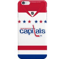 Washington Capitals 2011 Winter Classic Jersey iPhone Case/Skin