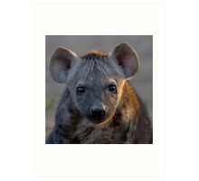 Hyena Cub Art Print