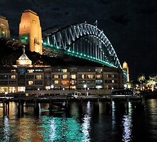 The Sydney Harbour Bridge From Campbell's Cove by DavidIori