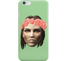 Lydia Flower Crown iPhone Case/Skin