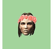 Lydia Flower Crown Photographic Print
