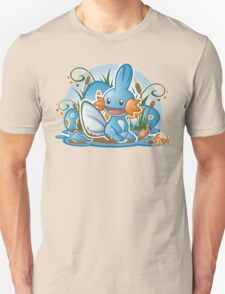 Pokemon - Mudkip - Render Cut T-Shirt
