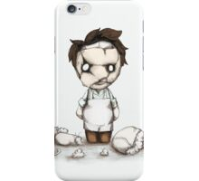 Pleatherface iPhone Case/Skin