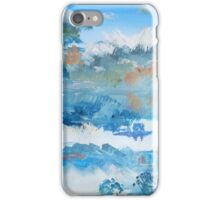 Colorful Coudy Evening Sky Painting iPhone Case/Skin