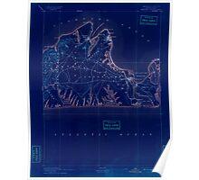Massachusetts  USGS Historical Topo Map MA Marthas Vineyard 352839 1894 62500 Inverted Poster