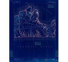 Massachusetts  USGS Historical Topo Map MA Marthas Vineyard 352839 1894 62500 Inverted Photographic Print