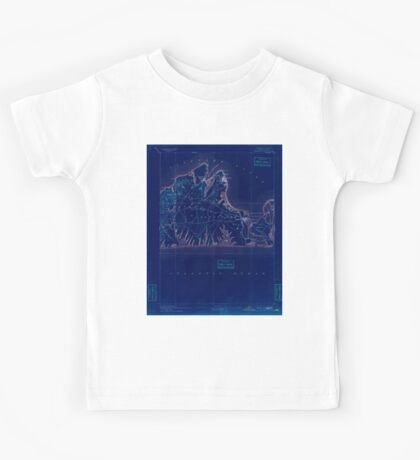 Massachusetts  USGS Historical Topo Map MA Marthas Vineyard 352839 1894 62500 Inverted Kids Tee
