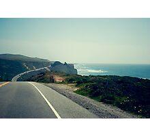 CA 1 Coast Line Photographic Print