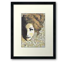 Lady Wisdom Framed Print