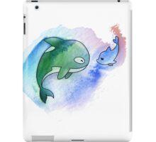 MakoHaru Watercolor iPad Case/Skin