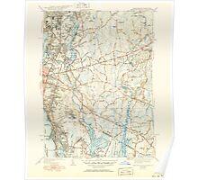 Massachusetts  USGS Historical Topo Map MA East Providence 351656 1941 31680 Poster