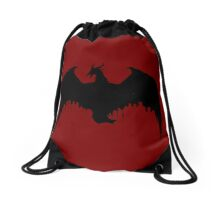 Dragon logo Drawstring Bag