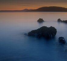 Late Evening, Tralee Bay, Argyll by JOHN MACBRAYNE