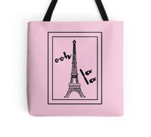 Ooh la la with Eiffel Tower Paris Love Tote Bag