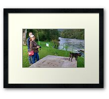 Tarn and the Aussie Tourists Framed Print