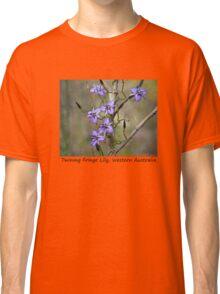 Twining Fringe Lily. Classic T-Shirt