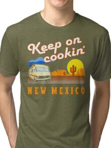 Keep on Cookin'! ('80s Vintage Distressed Look) Tri-blend T-Shirt