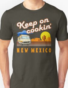 Keep on Cookin'! ('80s Vintage Distressed Look) Unisex T-Shirt