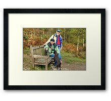 Tarn and the Yankee Tourists Framed Print