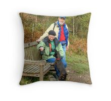 Tarn and the Yankee Tourists Throw Pillow