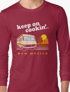 Funny - Keep on Cookin'! (Distressed Vintage Look) Long Sleeve T-Shirt