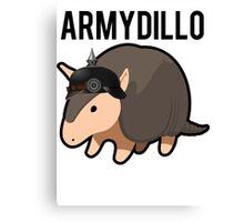 ArmyDillo Army Armadillo Canvas Print