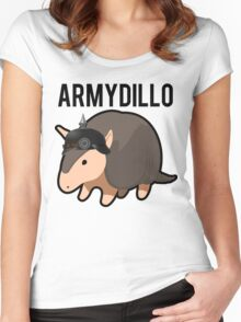 ArmyDillo Army Armadillo Women's Fitted Scoop T-Shirt