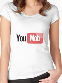 You Mob [-0-] Women's Fitted Scoop T-Shirt