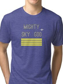 Mighty Sky God Tri-blend T-Shirt