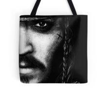 Johnny Depp Jack Pparrow Tote Bag
