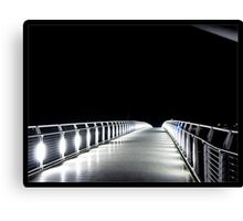 Footbridge to Darkness Canvas Print