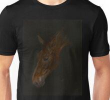Stunning dark horse painting. Unisex T-Shirt