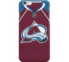 Colorado Avalanche Home Jersey iPhone Case/Skin