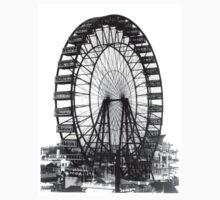 Vintage Ferris Wheel Chicago Fair by iEric