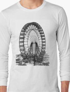 Vintage Ferris Wheel Chicago Fair Long Sleeve T-Shirt