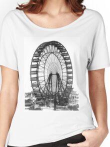 Vintage Ferris Wheel Chicago Fair Women's Relaxed Fit T-Shirt