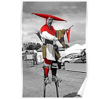 Man on Stilts Poster