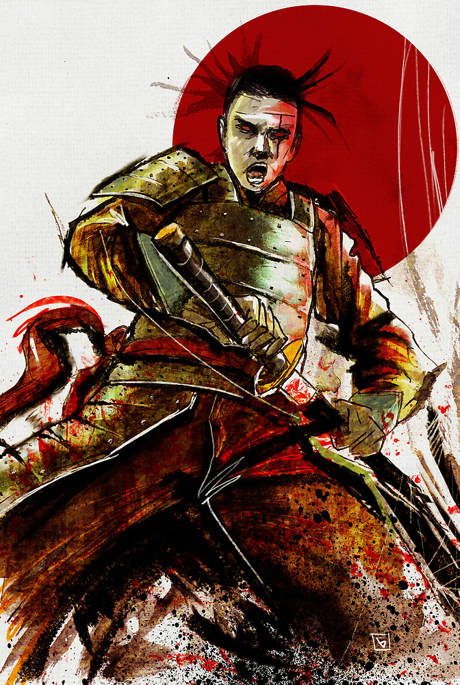 THE RONIN by GeeHale