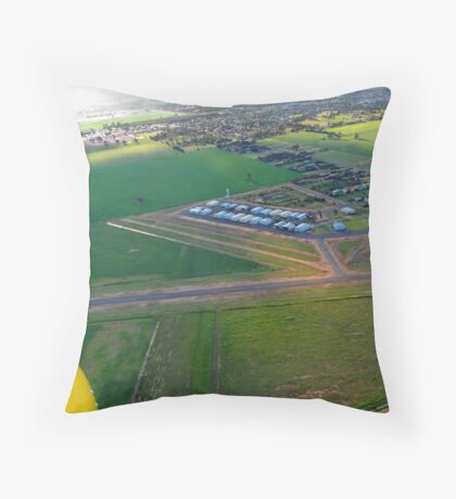 Yarrawonga Aerodrome Throw Pillow