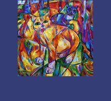 Cubist Cats At Dusk T-Shirt