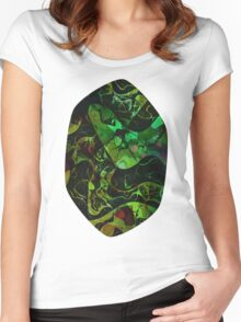 Abstract DM 03 Women's Fitted Scoop T-Shirt