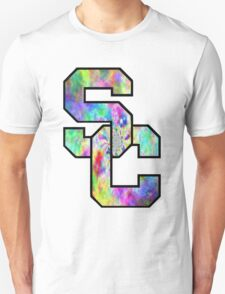 University of Southern California Trippy Logo Unisex T-Shirt